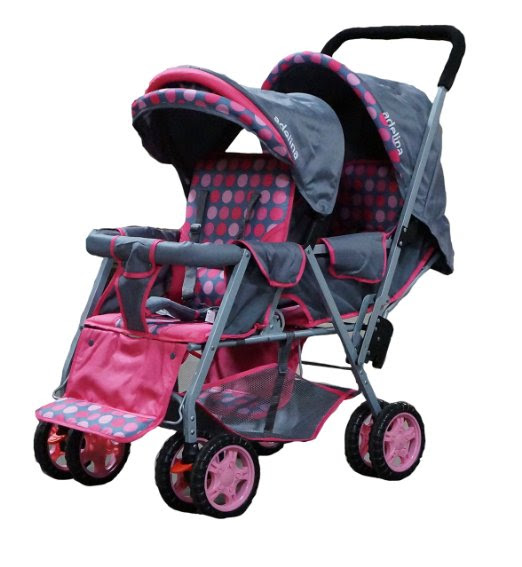 ADELINA Designer Double Stroller Reviews | OMG Stroller