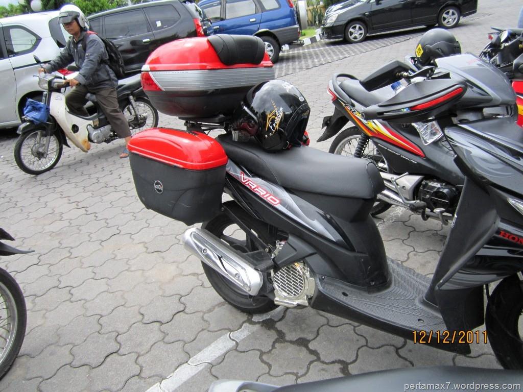 Modifikasi Honda Vario Untuk Touring Kumpulan Modifikasi Motor Vario