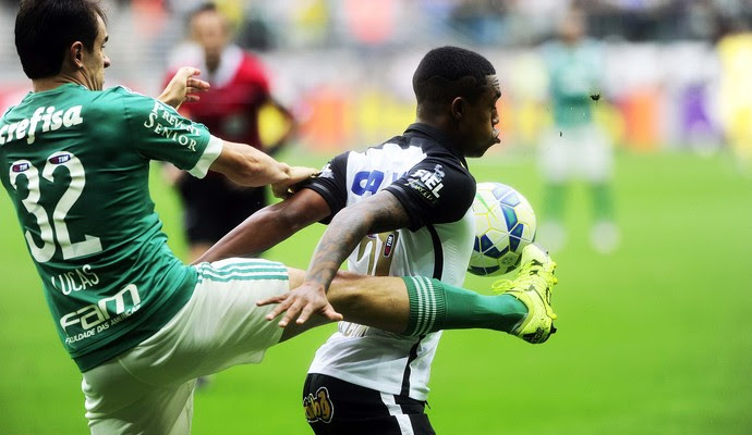 Palmeiras x Corinthians Lucas Malcom (Foto: Marcos Ribolli)
