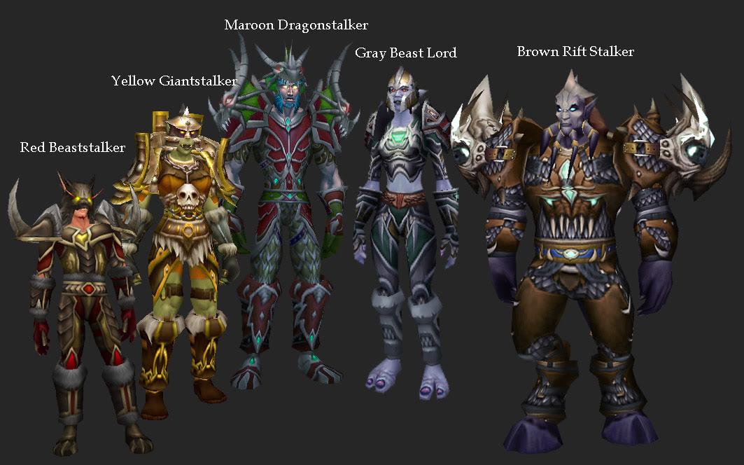 Master of World of Warcraft : 4 3 Transmogrification NPC