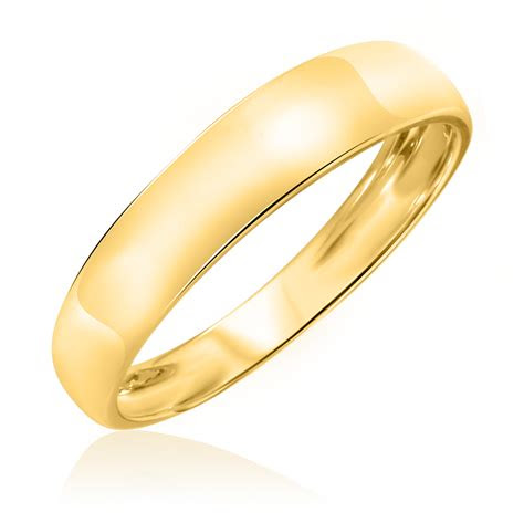 traditional wedding band set  yellow gold  trio