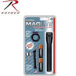 Maglite M2A01C Mini flashlight,black,aa,combo Pack