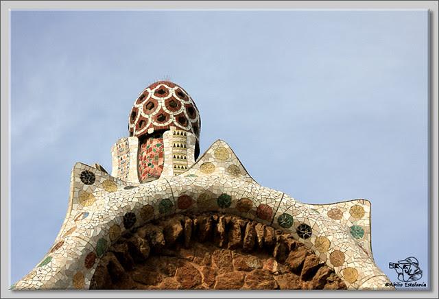 3 Park Güell de Barcelona