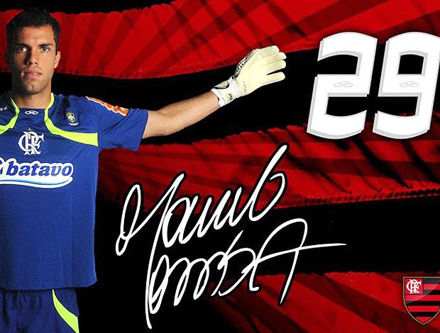 Crad Flamengo Marcelo Lomba