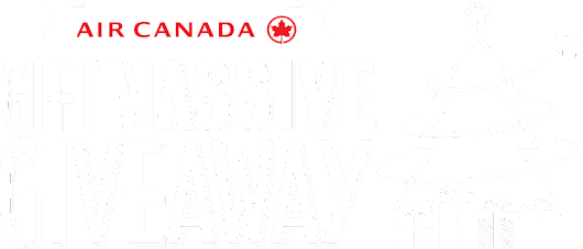 Air Canada Giftmassive Giveaway