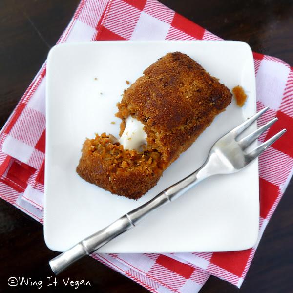 Leftover Lentil Cottage Pie Croquette