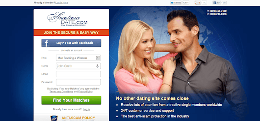 AnastasiaDate Review - Real or Just a Scam? | Real Dating Site Reviews