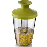 Tomorrows Kitchen 2833650 PopSome Flavour Dressing & Marinade Shaker Green Lid