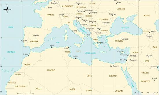 Mediterranee map30 50