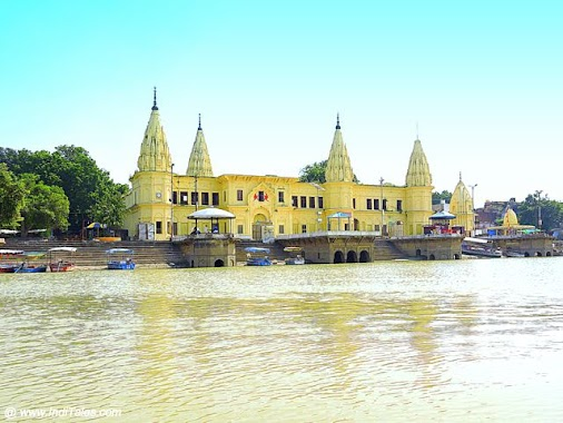 Guptar Ghat on banks of Saryu, Ayodhya. A Travel Guide to the city of Ram & Ramayan read more  #travel...