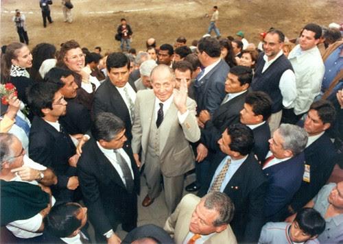 Rey Juan Carlos I de España en Lima