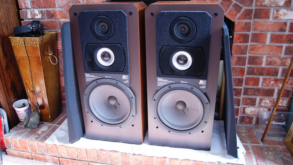 Audioless Winnipeg Group Acoustic Research Ar91 Speakers