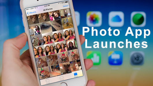 iCloud Photo Library App Launches | www.icloudlogin.com