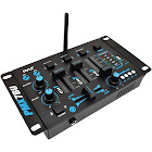 Pyle Pro PMX7BU 3-Channel Analog Mixer - Rack-mount
