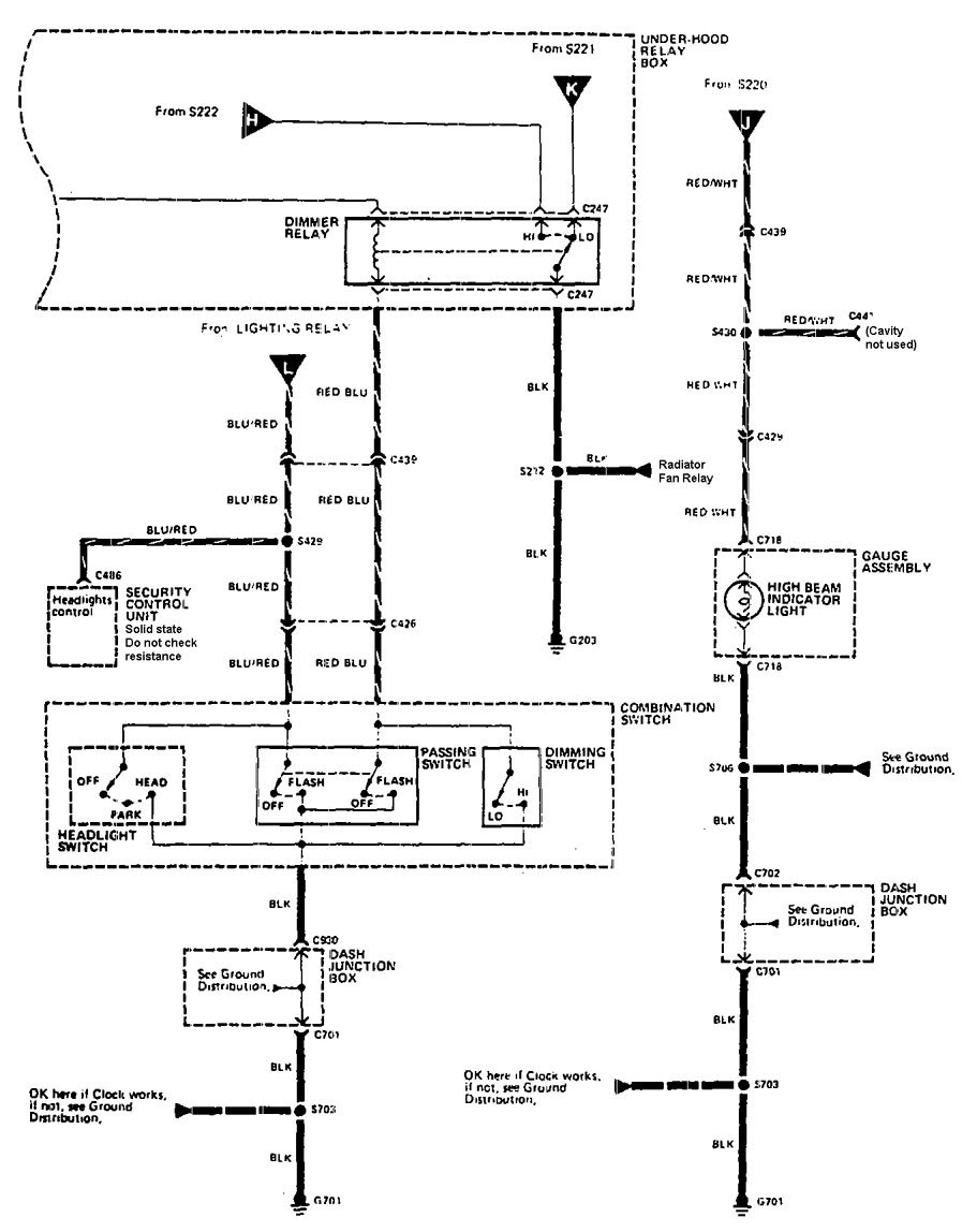 1990 Integra Fuse Diagram