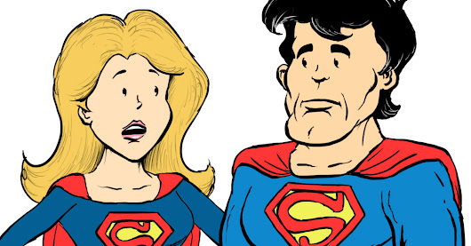 Supergirl vs. Superman - on Gender Pay Gap - C-Section Comics