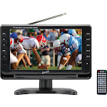 "Supersonic 9"" Portable Widescreen LCD TV with Tuner (SC-499 / SC499)"