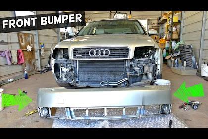 Audi A4 2004 Front Bumper Removal