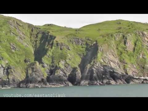 At Ilfracombe In North Devon and having an hour pleasure cruise on boat to Combe Martin Part 1