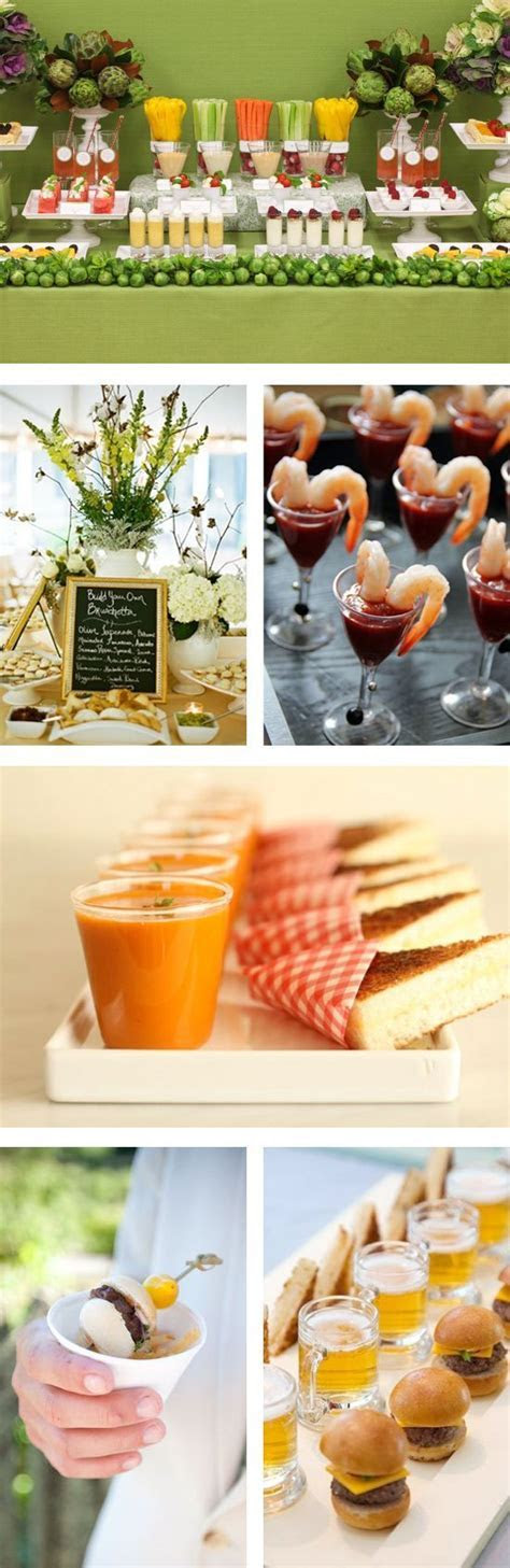 Things We Love   Creative Food Stations   Food stations