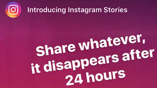 Instagram Stories delete after 24 hours but is that privacy? - The Authentic Storytelling Project