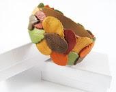 Autumn Leaves Bangle Bracelet - MissEsAccessories