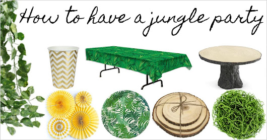 Jungle Parties: The Best Ideas and Supplies for a Jungle Party Theme