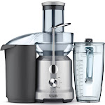 Breville BJE430SIL Juice Fountain Cold Juicer - Silver