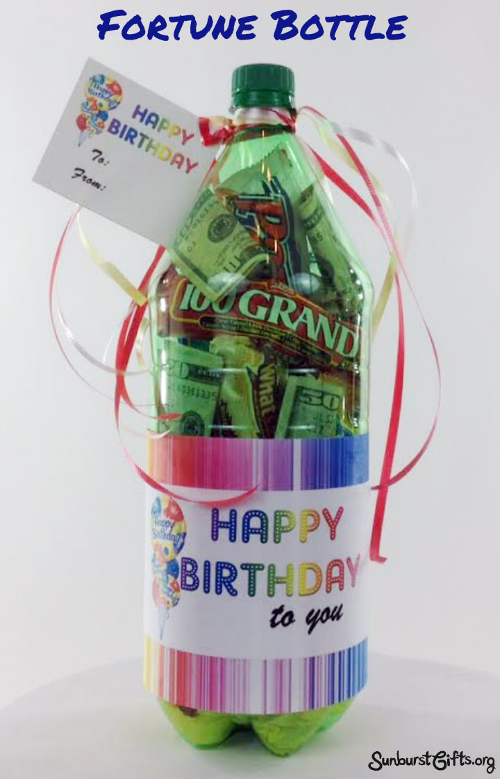 2 liter fortune bottle thoughtful gift idea