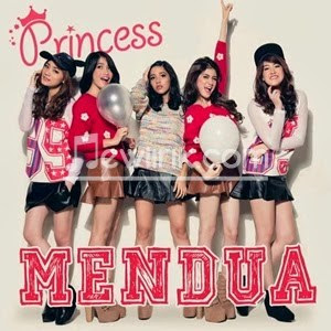 Lirik Princess - Mendua