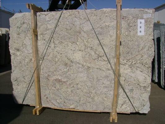 Slab Granite Countertops White Springs Granite