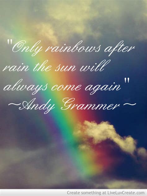 After The Rain Rainbow Quotes