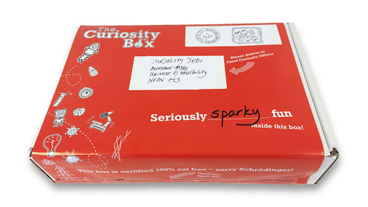 The Curiosity Box: Serious fun science subscription for kids