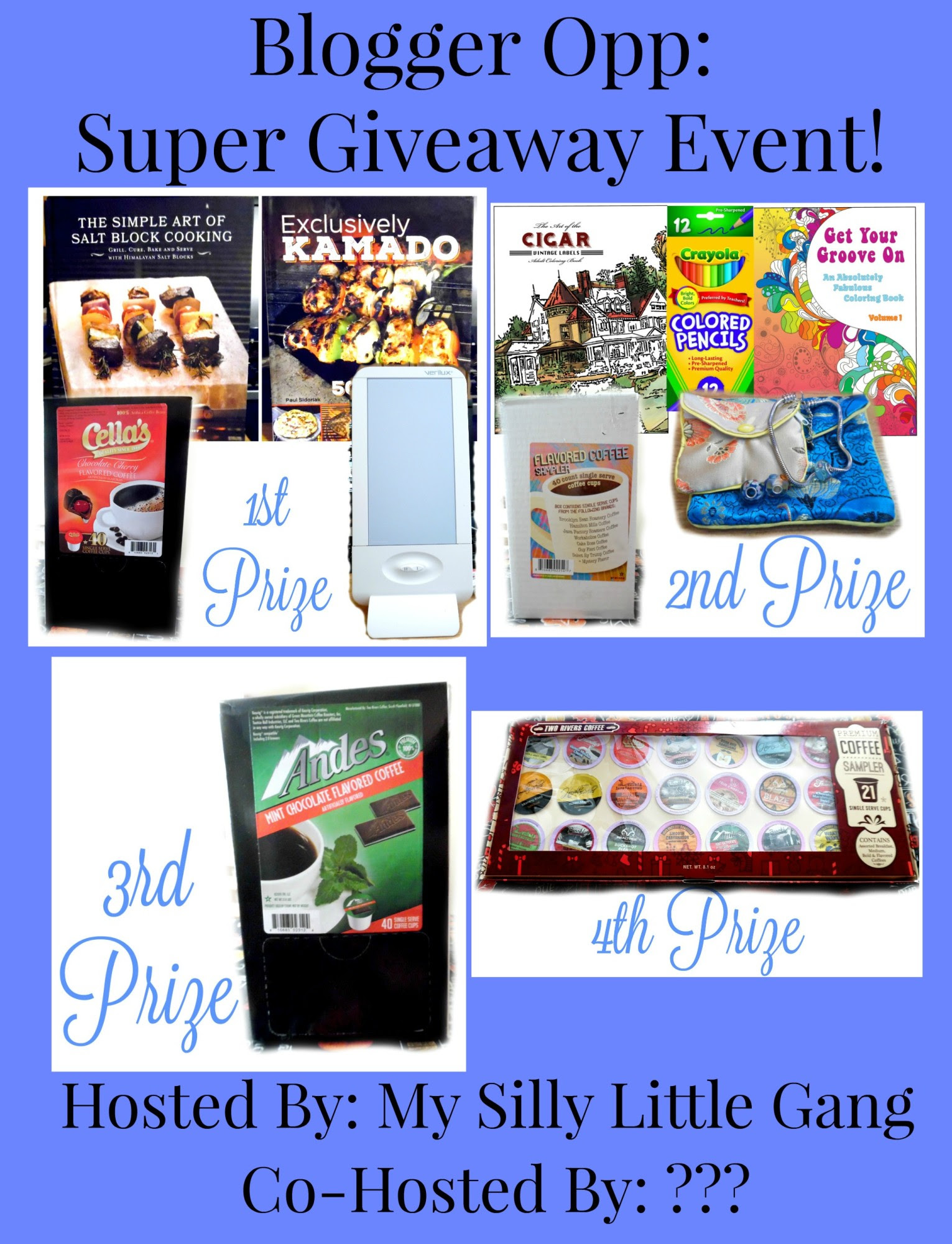 blogger opp Super Giveaway Event