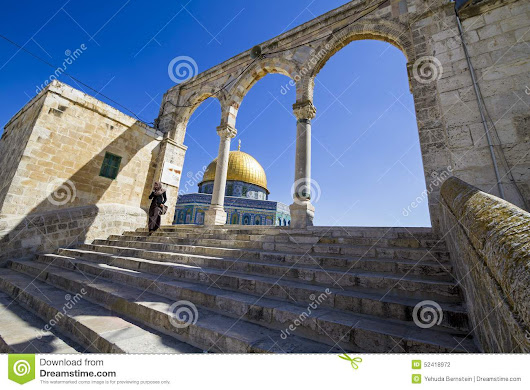 Dome Of The Rock Editorial Photography - Image: 52418972