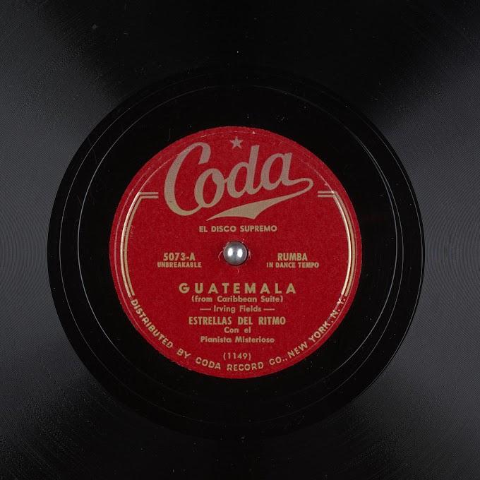 Estrellas Del Ritmo con El Pianista Misterioso - Guatemala (1948)
