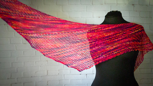 From the Ashes pattern by rhyFlower Knits