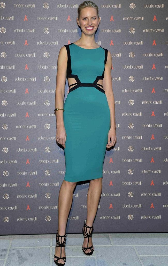5 Karolina Kurkova in Roberto Cavalli @ Store Opening Vienna