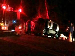 Acidente deixou sete pessoas feridas (Foto: Vinicius Nadena)