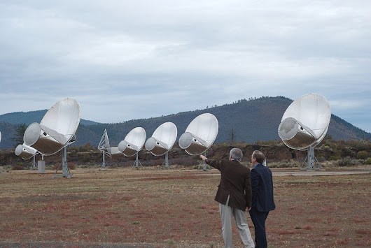 Was mysterious radio signal a message from aliens?