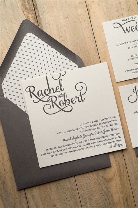 25  best ideas about Square wedding invitations on