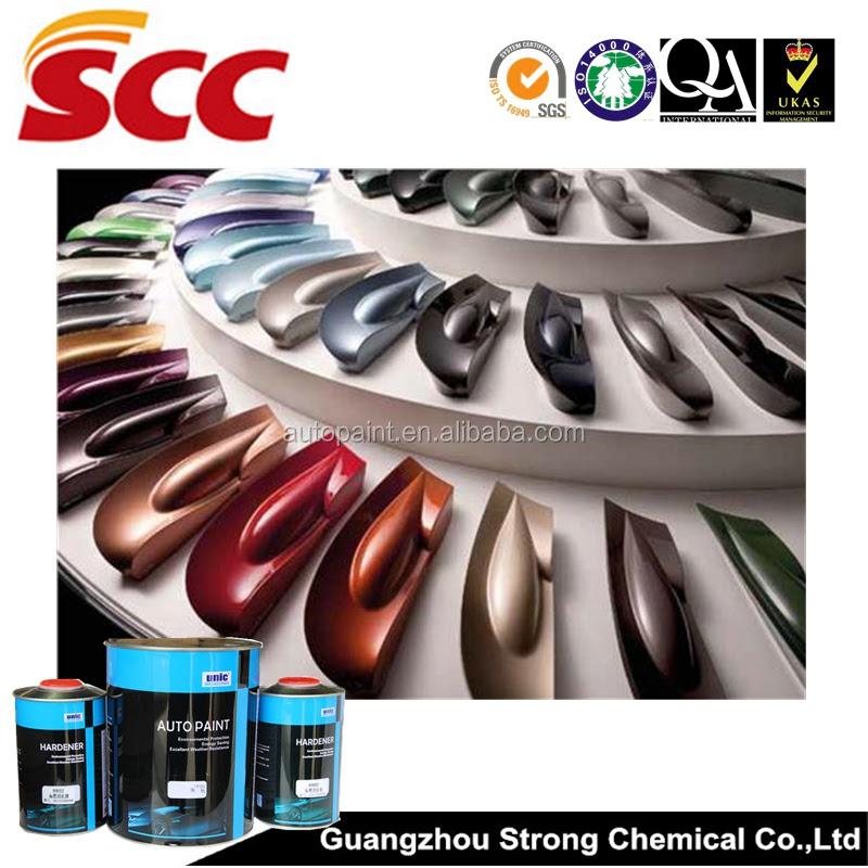 Unic Brand Automotive Metallic Paint Colors - Buy Metal ...