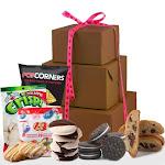 Happy Valentine's Day Gluten Free Gift Tower Gift Basket