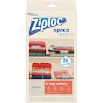 Ziploc 70405 Space Bag Variety Set, 6-Count