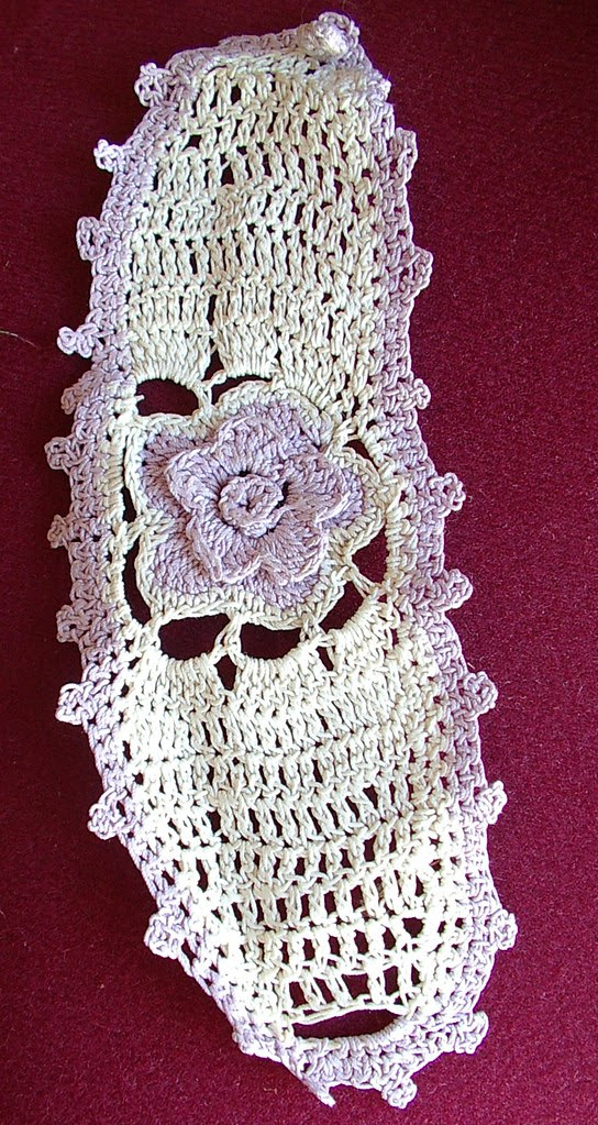 not sure just an old piece of lace