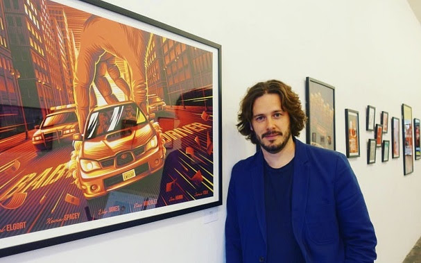 Edgar Wright in Baby Driver Art Show 607