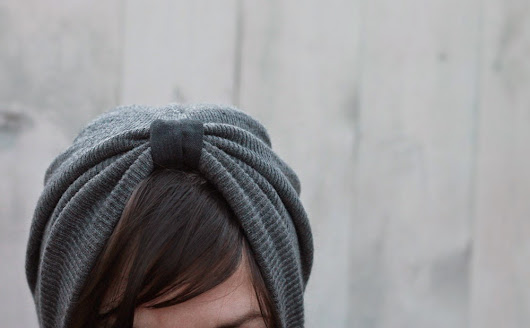 An Easy Beanie to Turban #Refashion
