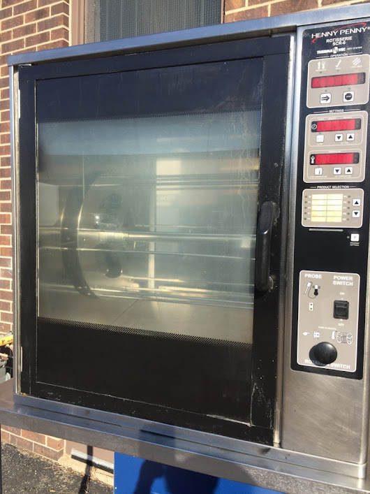 Henny Penny SCR6 Commercial Rotisserie Oven - MB Food Equipment