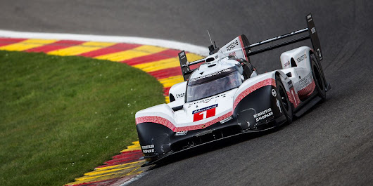 Porsche 919 Spa Record - New 919 Evo Laps Spa Quicker Than F1 Car