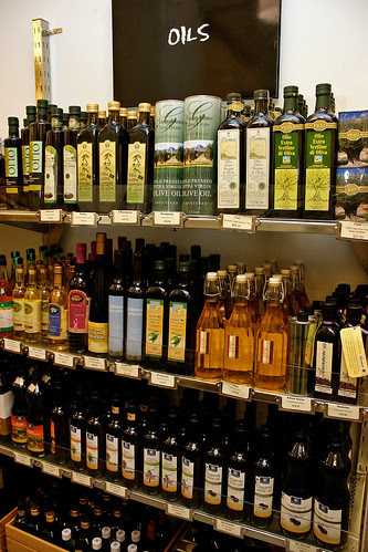 They have a wide selection of cooking oils and sauces